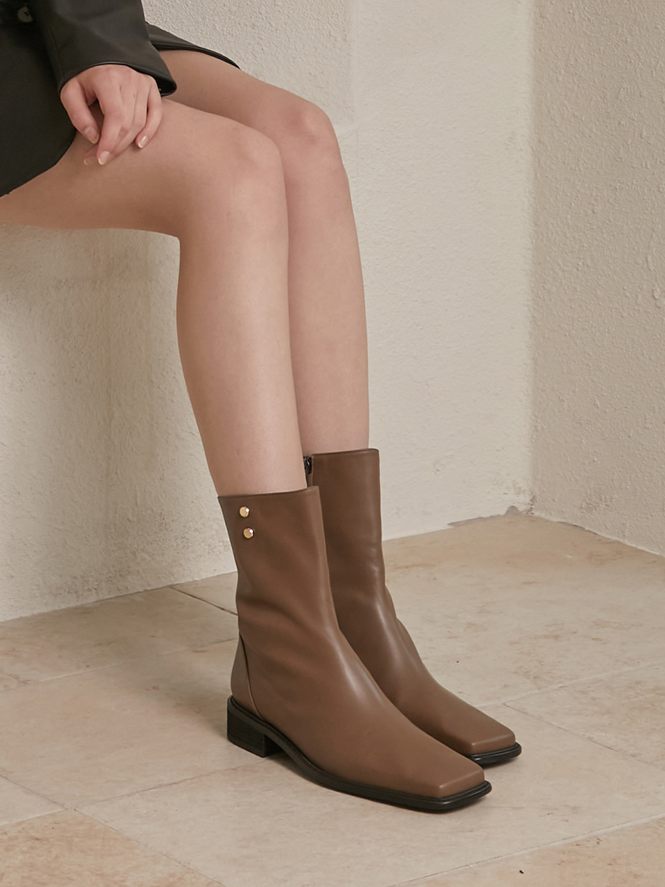 GEORGIA BOOTS(Moca brown)