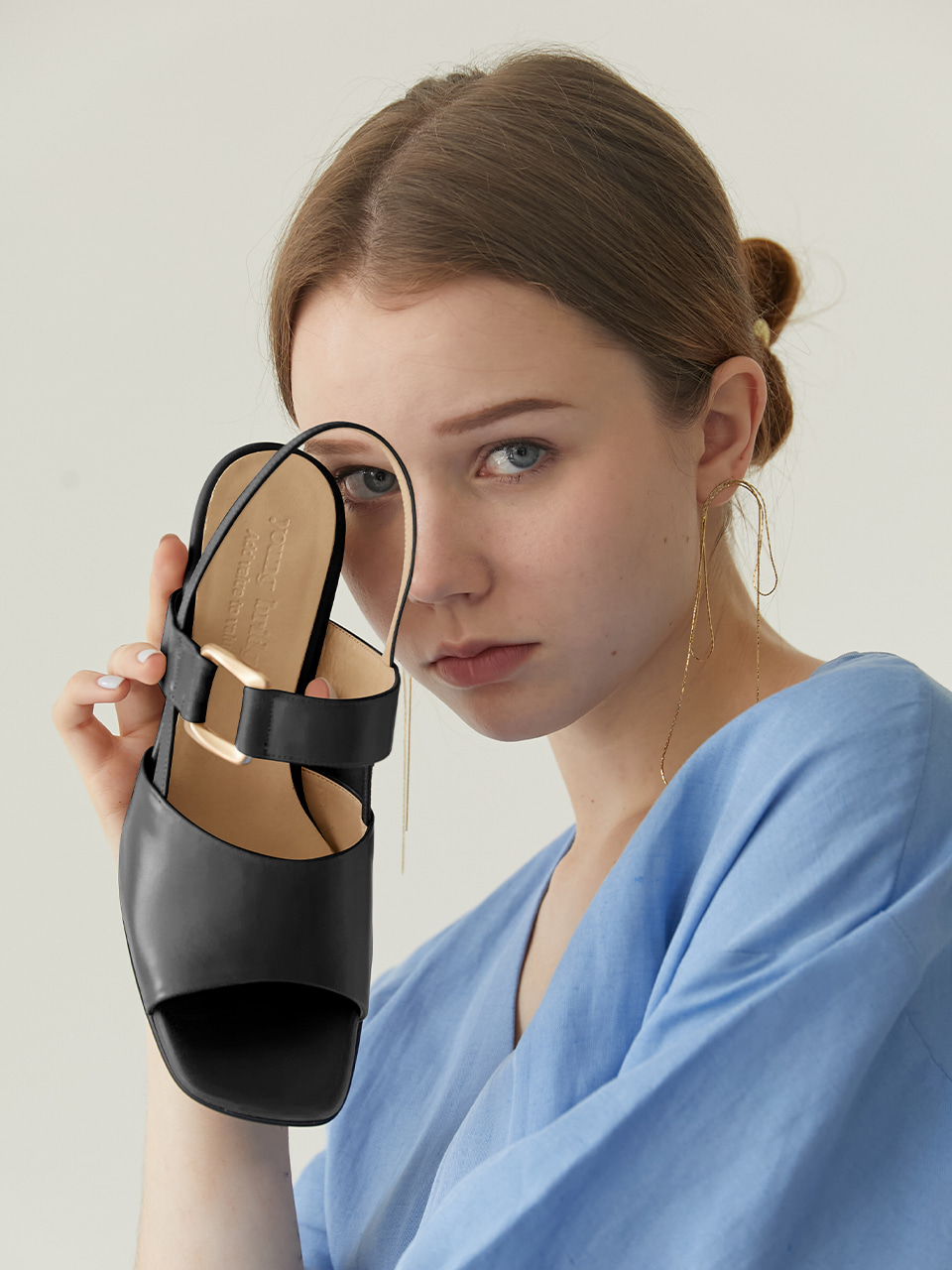MARGARET SANDAL(Black)